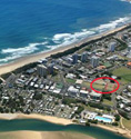 Our location, Cotton Tree, Maroochydore